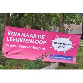 Banner Leeuwenloop
